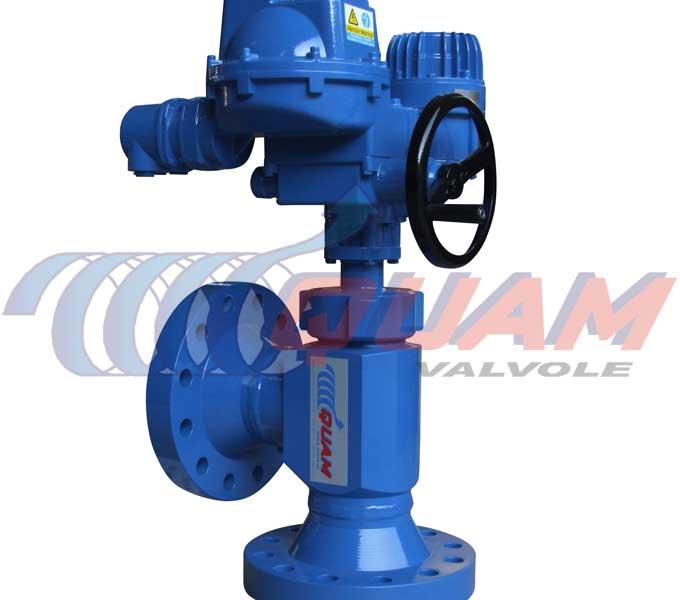 quam electrical actuated choke valve