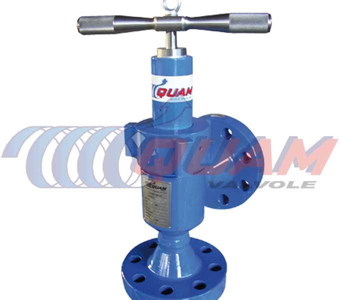 quam needle&seat choke valve