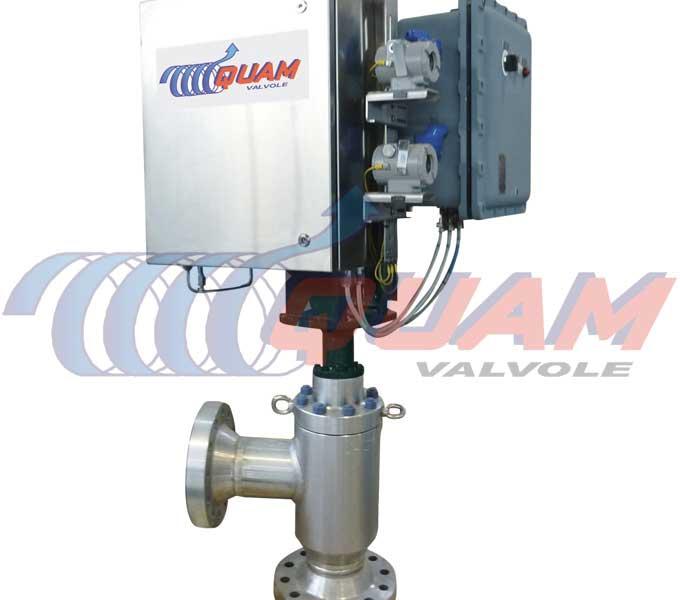 quam pneumatic actuated choke valve