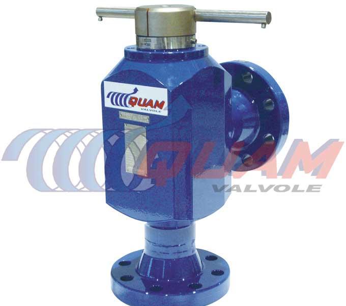 quam rotating disks choke valve