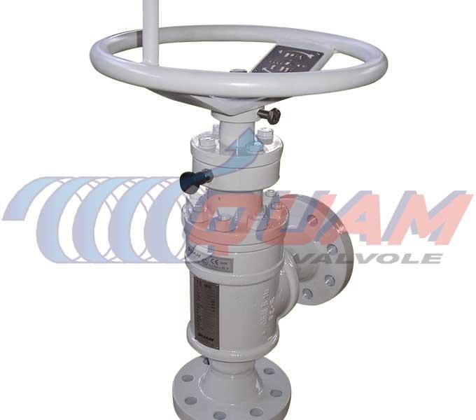 quam sleeve&cage choke valve