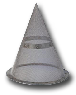 common Top Hat filters (cone type)