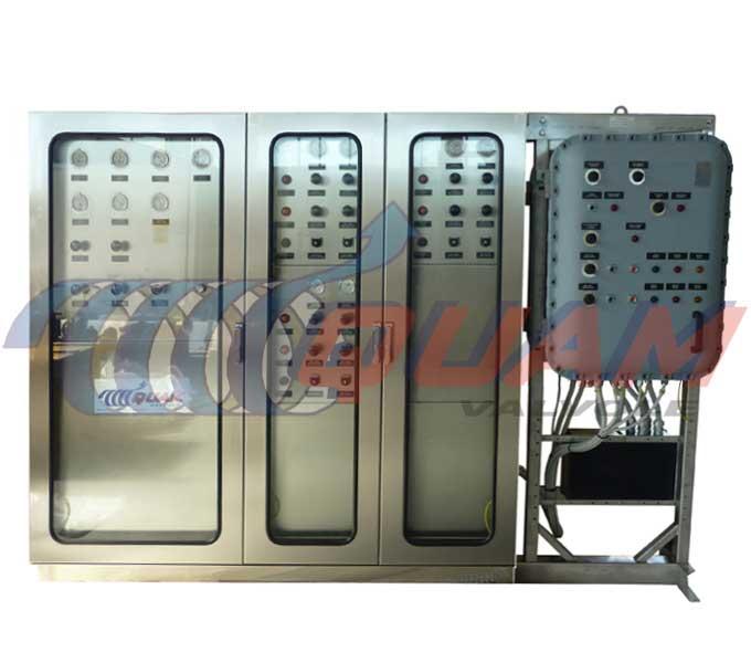 quam Electro-Hydraulic Wellhead Control Panel.