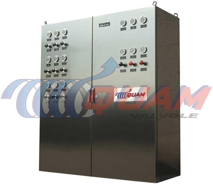 quam Pneumatic Wellhead Control Panel.