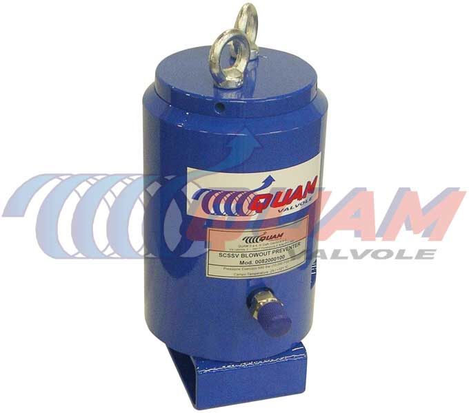 quam SCSSV Blow Out Preventer.