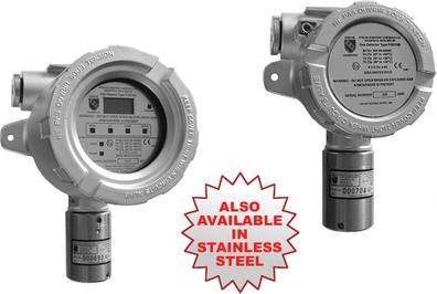 flameproof acetylene gas detector