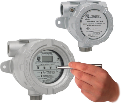 flameproof ammonia gas detector