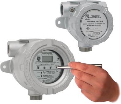 flameproof carbon monoxide gas detector