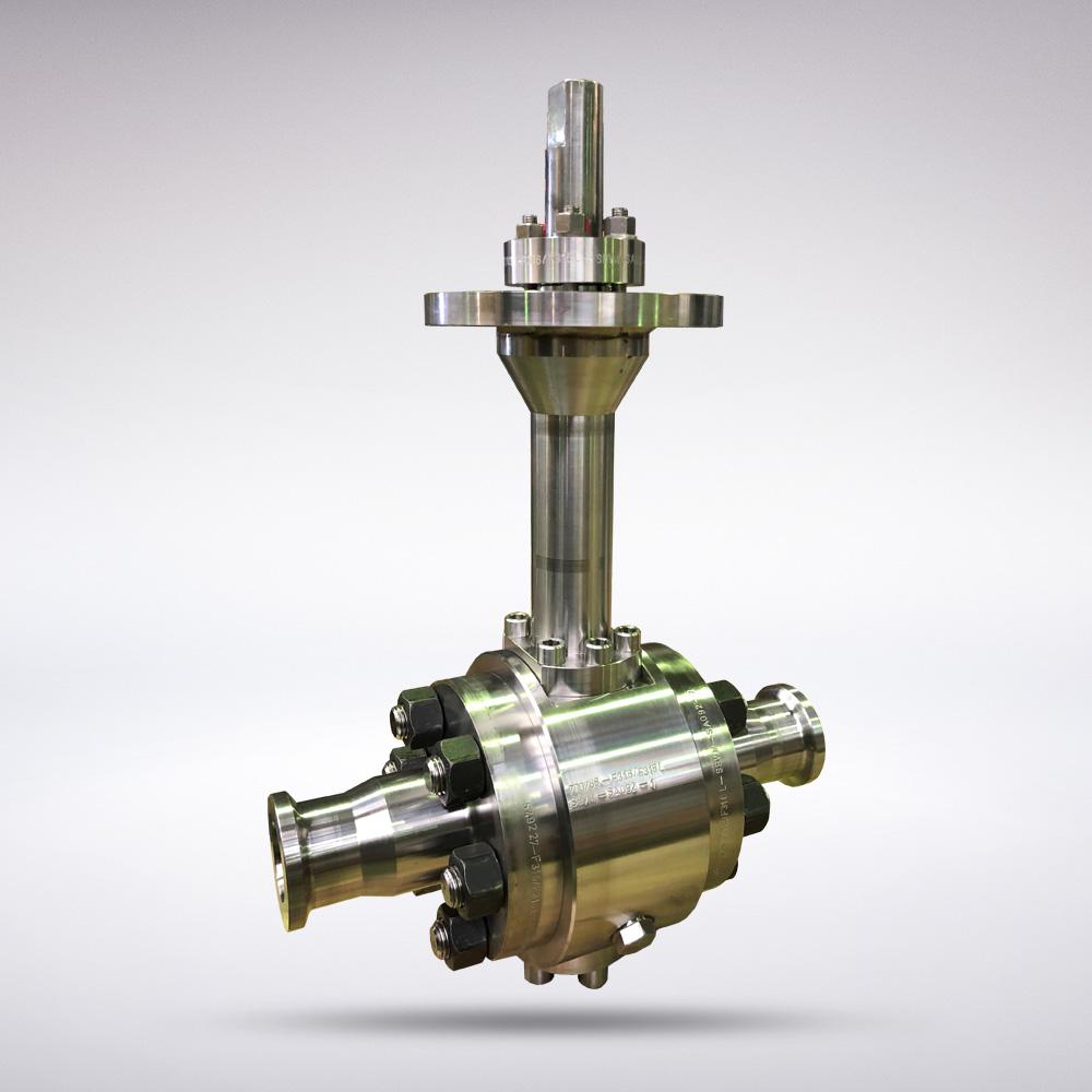 sern ball valves - cryogenic