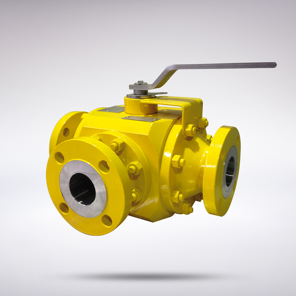 SERN MULTIWAY TRUNNION MOUNTED BALL VALVES