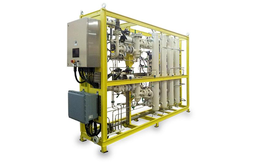 blutek instrument air and nitrogen generation - dessicant-dryer-skids offshore