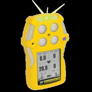 bw technologies portable gas detectors -GasAlert QUATTRO