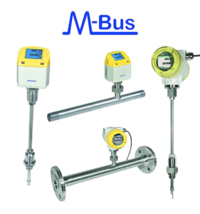 cs instruments M-Bus thermal mass flowmeter