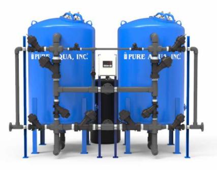 pure aqua industrial water softener- sf-100s