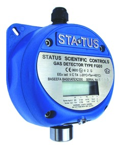 status scientific Intrinsically Safe Fixed Gas Detectors