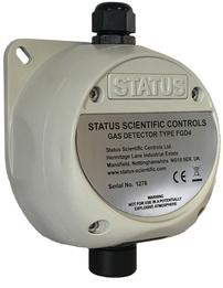 status scientific gas detector - safe area