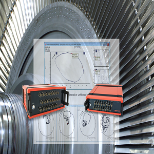 vibration measurement & analysis instruments -Benstone - Turbomachinery Vibration Analysis System