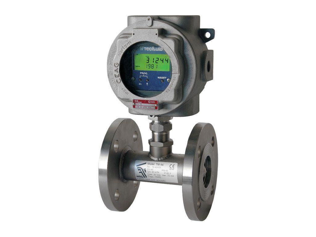 tecfluid turbine flowmeter - serie_tm
