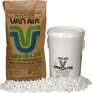 van air systems dryer desiccants - dry-o-lite