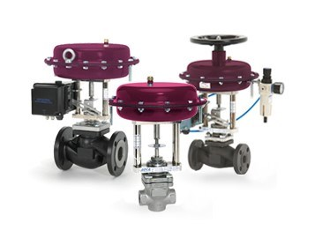 Valsteam two-way control valves - pv25-series