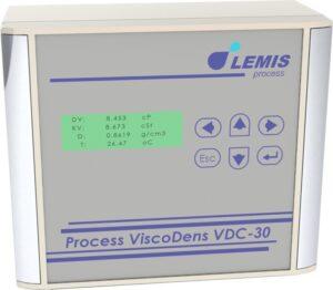 low flow rate density & viscosity meter vdc-30 series