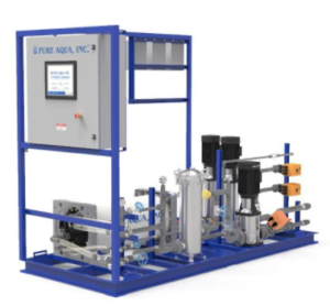 pure aqua electrodeionization systems