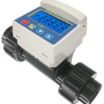 thermoplastic flow measuring instruments -TKB In-Line Paddle Wheel Flow Meter