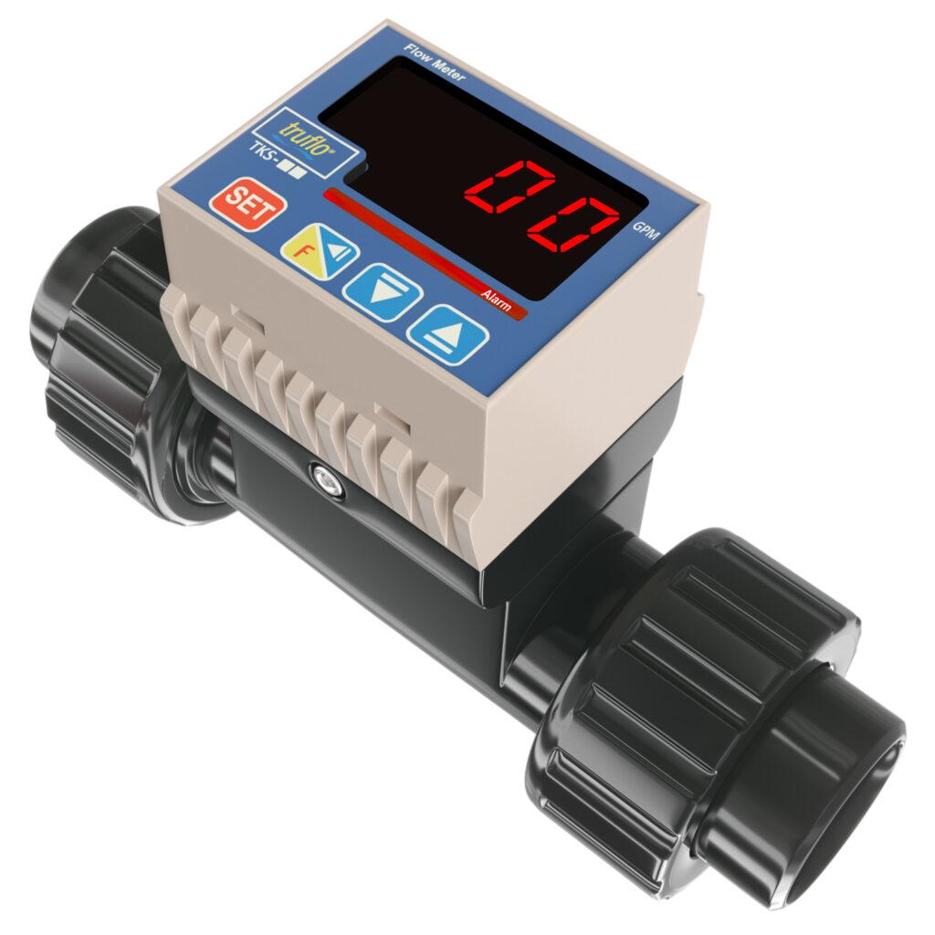 tks in-line paddle wheel flowmeter