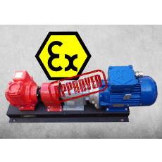 Fluxtronics atex pumping skid for custody transfer - fuel transfer systems
