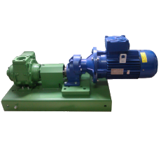 Fluxtronics direct coupler pumping skid - fuel transfer systems