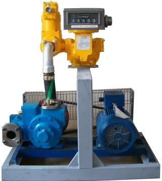 Fluxtronics fuel transfer systems - skid