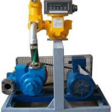 Fluxtronics metering and pumping skid - fuel transfer systems