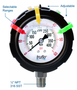 obs-dgo pressure gauge - double sided