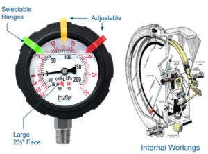 obs-v vacuum pressure gauge