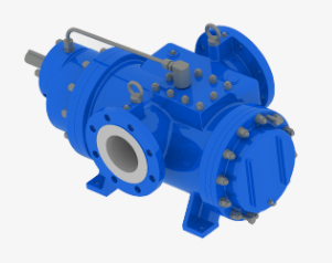 rotopumps twin screw pumps - horizontal internal bearing