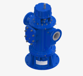 rotopumps twin screw pumps - vertical twin screw